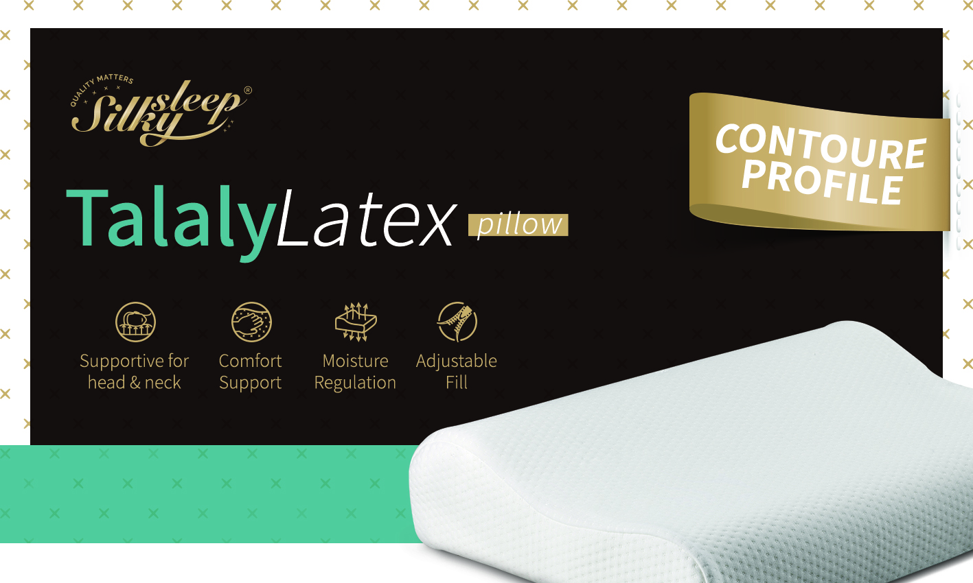 Talalay Contour Latex Pillow_3